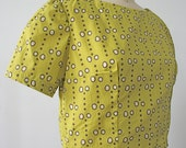 Indiago Cropped Cotton Poplin Size Small Blouse