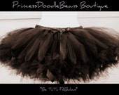 The Hannah - Petti-tutu - Sewn tulle tutu pettiskirt for teens and women - Super full and fun - choose your colors and length