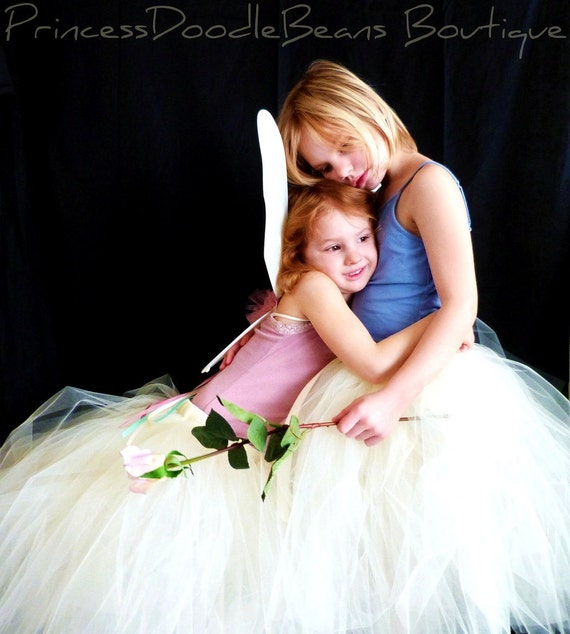 The Avery - Custom Mid Length Ballet style Tulle skirt - Sewn Tutu - half poof skirt in your choice of colors and length