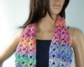 Rose Tyler from Dr Who inspired long scarf - custom work