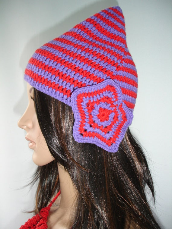 Striped Elf Hat - Ready to ship