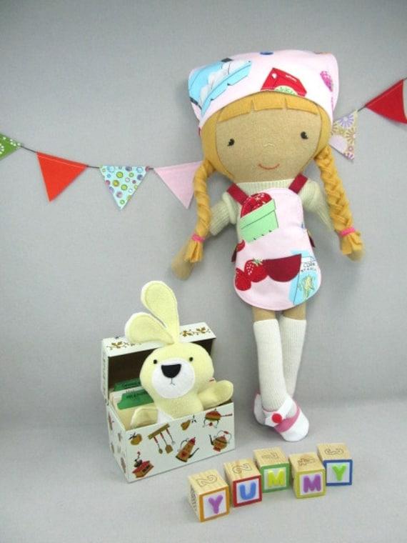 Студия куклы Boutique - Кулинария наряд - Сделано на заказ