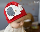 Stanly the water squirting Circus elephant beanie- Snugars quarky Boys hat 2011