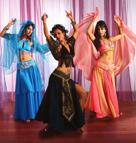 Belly Dancer Costumes For Halloween Belly Dancer Costume Pattern