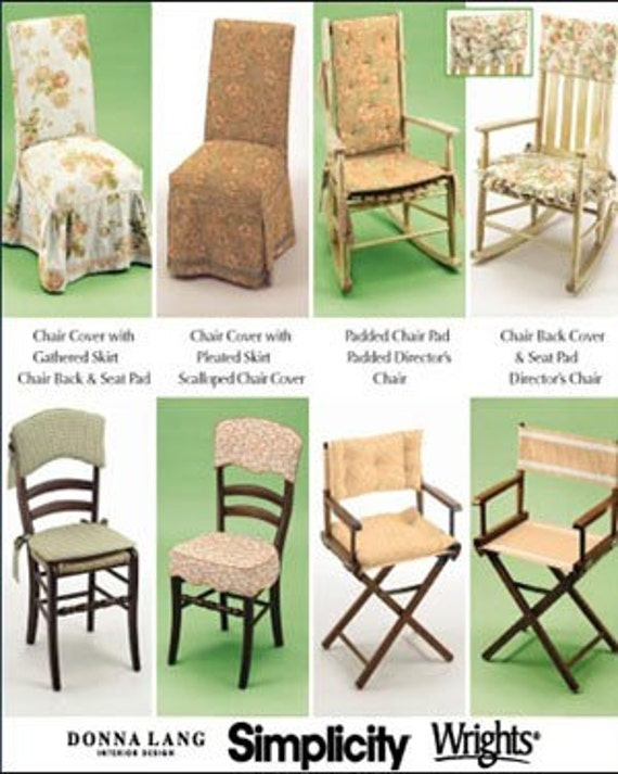 chair cover pattern