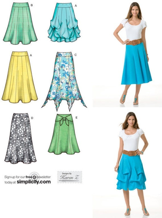 Gypsy Skirt Patterns 7