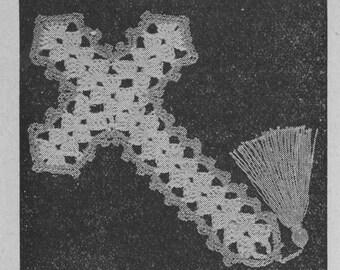 Easy Crocheted Cross Pattern - PDF Pattern 100 - Instant Download