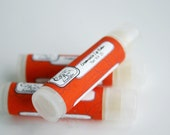 Creamsicle Lip  Balm - Natural Lip Balm - Orange Vanilla Lip Balm