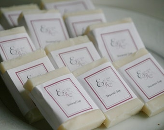Special Occasion Guest Size Soaps (Set of 30 ) Wedding Favors, Baby Shower Favors, Shower Favors