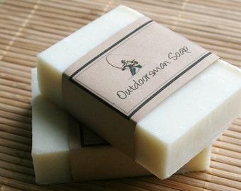 Outdoorsman Soap Bar -  Husband Gift - Hunters Soap Bar