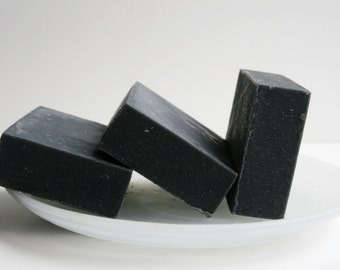 Activated Charcoal Soap, Natural Soap, All Natural Soap,Handmade Soap, Detox Soap, Vegan Soap