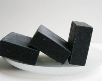 Activated Charcoal Soap, Natural Soap, All Natural Soap,Handmade Soap, Detox Soap, Vegan Soap, Artisan Soap, Soap