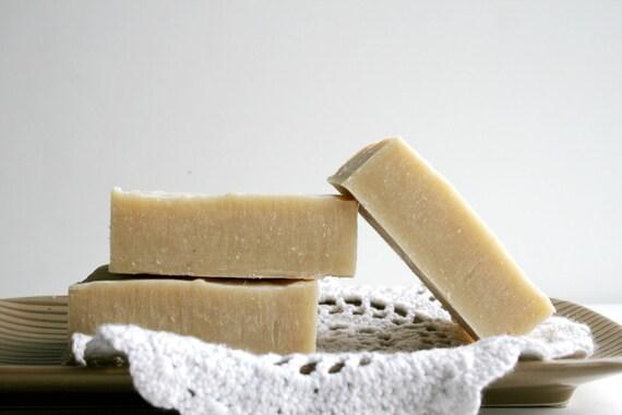 Lemon Geranium Soap - With Australian Beige Clay - Natural Handmade Soap - Essential Oil Soap