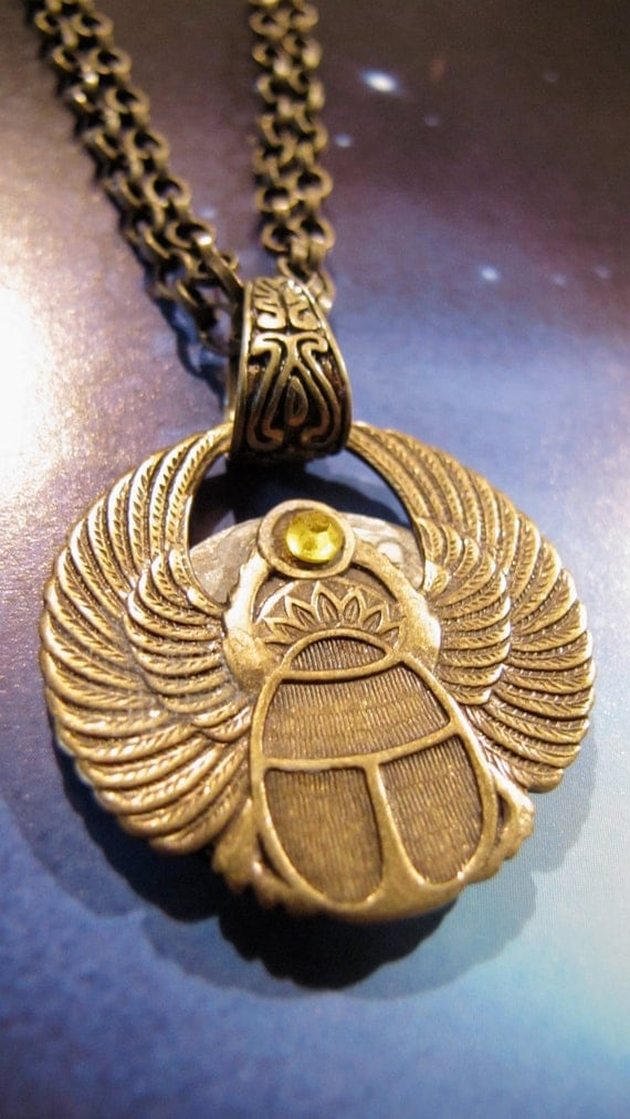 Necklace for an Egyptian Goddess Reversible