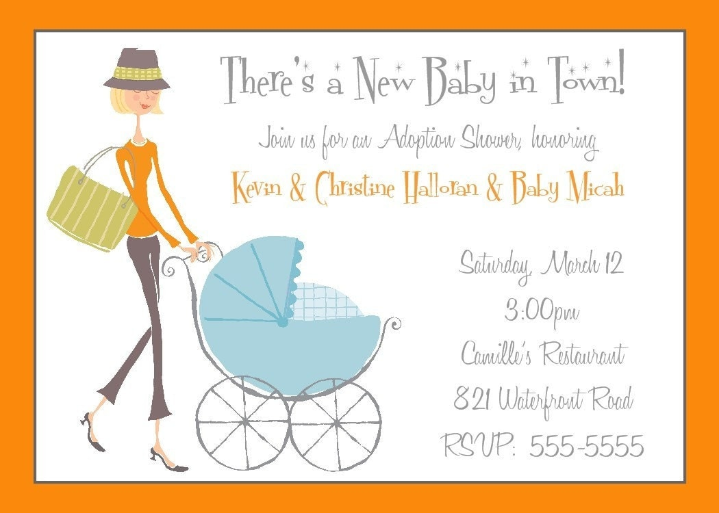 Adoption Baby Shower Invitation Wording is beautiful invitation ideas