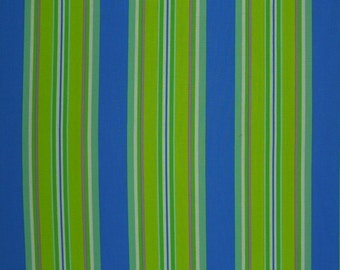 Dena Designs Monaco  Narrow Stripe Blue   1 yard