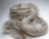 Caramel Swirl, 2 Ounces with Alpaca and Romney, All Natural Colors