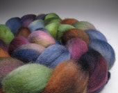 Summer Nights, Hand Dyed, 4 ounces, Falkland Wool Combed Top, Roving
