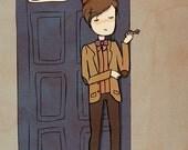 Doctor Eleven - Illustration Print
