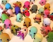 5 Random Surprise Little Baby Octopods