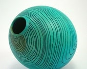 Topographical Blue Vessel