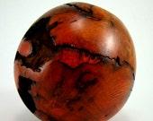 Hot Lava - Oak Burl Vessel
