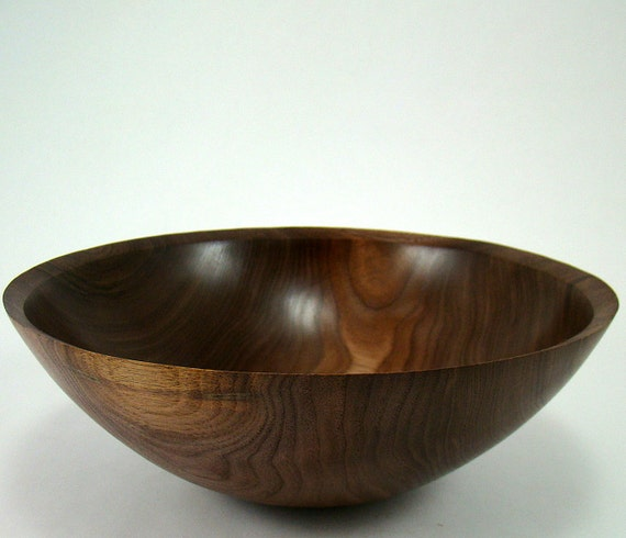 The Simpleton II - Black Walnut Bowl(reserved for serranoave)