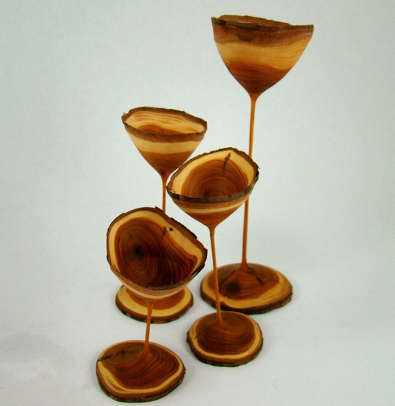 The Fourth Element - Yew Goblets