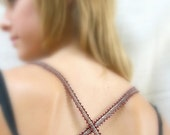 Red and Silver Copper Necklace/Bracelet/Bra Strap