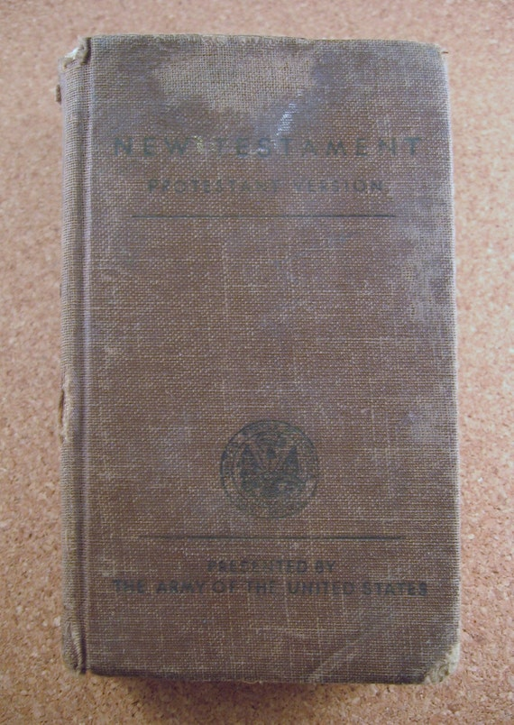 Military Issue Bible c. 1941