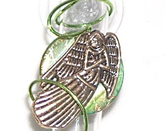 3 inch Angel Suction Bud Vase Window Vase Memorial Vase