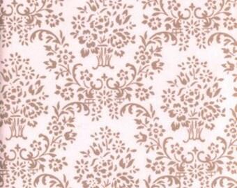 Very Rare 1 Yard of Annette Tatum's House Fabric Wallpaper Design Color Petal a Free Spirit Fabric