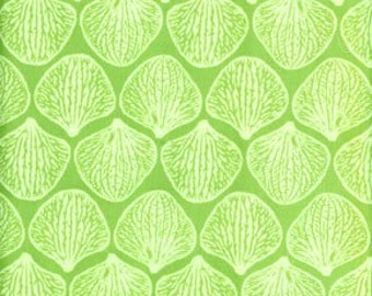 Joel Dewberry Fabric Decor Weight Ginseng Collection Orchid Pedals Celery Color