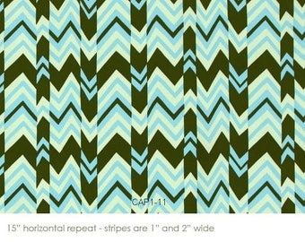 Amy Butler Nigella Collection of Decor Weight Ritzy Stripe color sky All fabric is mailed Via Priority Mail.