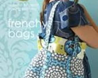 30% off amy butler Frenchy Bags Midwest Modern sewing patterns handbag and shoulder bag