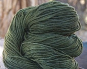 RESERVED FOR PerpetualKnitter Malabrigo Dyed Pure Merino Wool 216 yards Olive 56