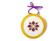 Blossom mini cross stitch