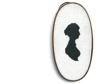 Jane modern cross stitch pattern