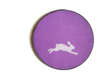 Rabbit modern cross stitch pattern