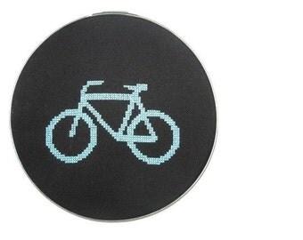 Bicycle modern cross stitch pattern