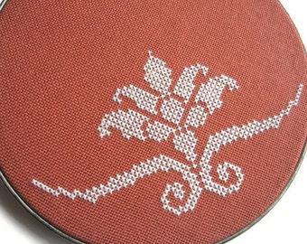 Flourish modern cross stitch