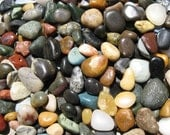 COLORFUL Lake Beach Stones BULK