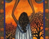 On Sale The Wheel of the Year- Samhain Greeting Card