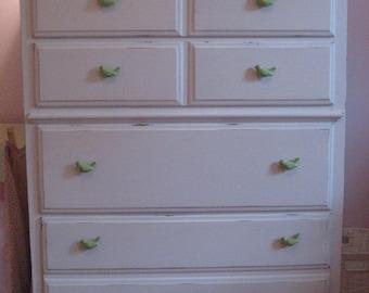 Kids furniture, nursery decor, 10 bird knobs, drawer pulls furniture hardware babys room