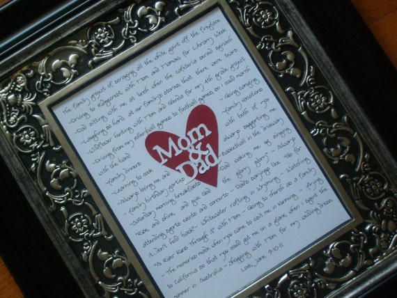 Personalized Wedding Gifts For Parents: Wedding Gifts For Parents Mother Of Bride Father Of Bride