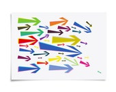 Movers and Shakers - A4 Giclee Digital Art Print