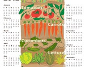 2012 Year-at-a-Glance Poster Calendar