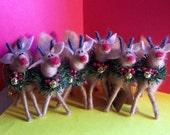 Wool Reindeer