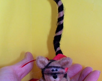 Wool Tiger Ornament