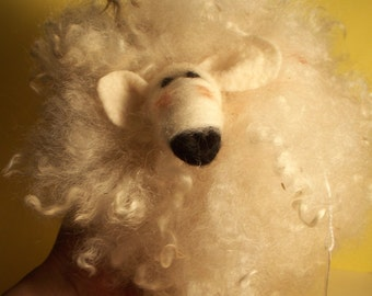 Wilson the Woolie Needle Felted Wool Sheep